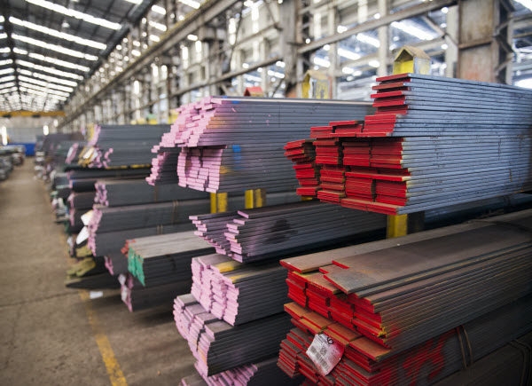 Different colors of steel Flat bar
