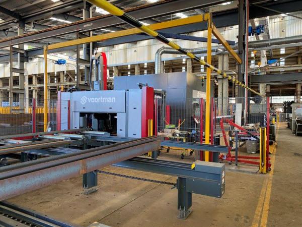 New big equipment for cutting steels